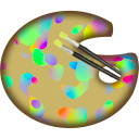 Rainbow Painter Icon